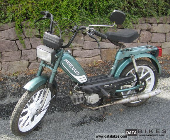 1986 Herkules  Prima 5 Price € 300 VHB Motorcycle Motor-assisted Bicycle/Small Moped photo