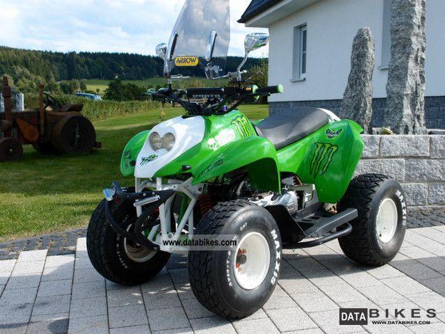 2008 PGO  X Rider 50 - MONSTER ENERGY - UNIQUE - FIMAXX Motorcycle Quad photo