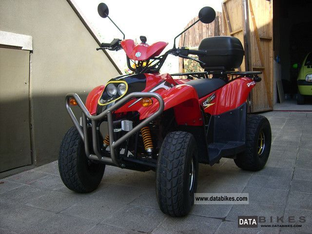 2006 PGO  XR-50 Motorcycle Quad photo