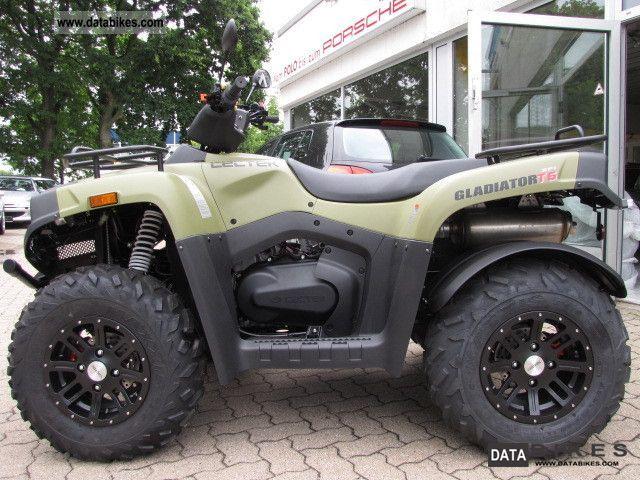 2012 Cectek  GLADIATOR 525T6 * Mod2013 * Alloy wheels * new circuit Motorcycle Quad photo