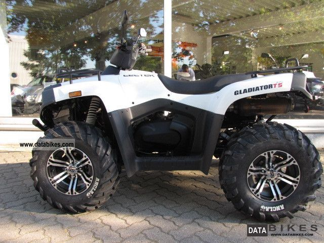 2012 Cectek  GLADIATOR 500 T5 * with the new circuit 2012 Motorcycle Quad photo