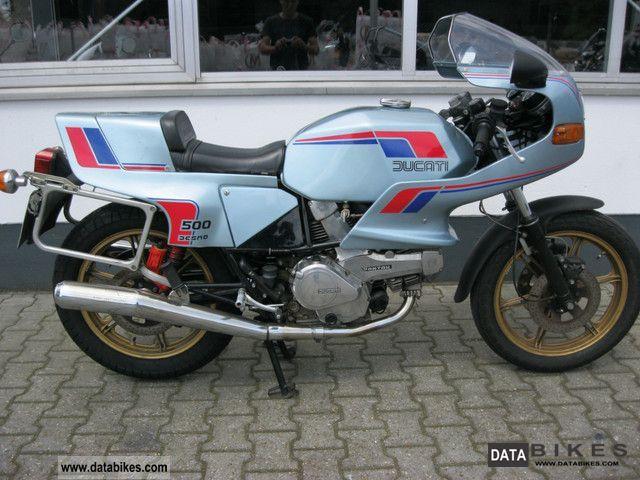 1982 Ducati  500 SL Pantah Motorcycle Sports/Super Sports Bike photo