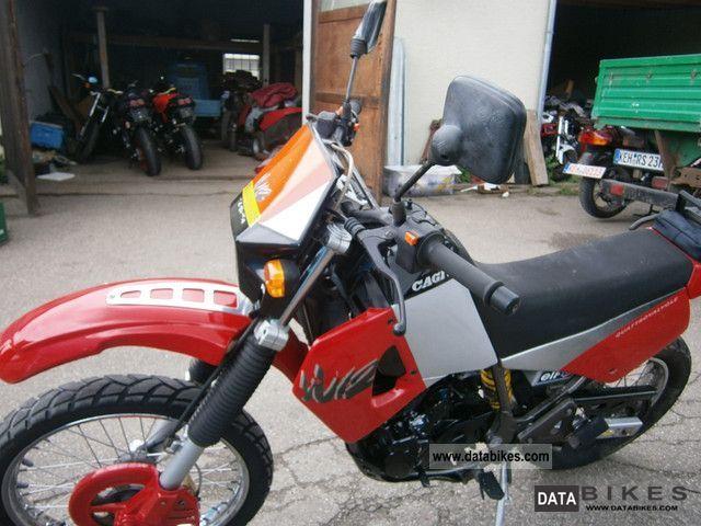 1993 Cagiva  W 12 Motorcycle Enduro/Touring Enduro photo