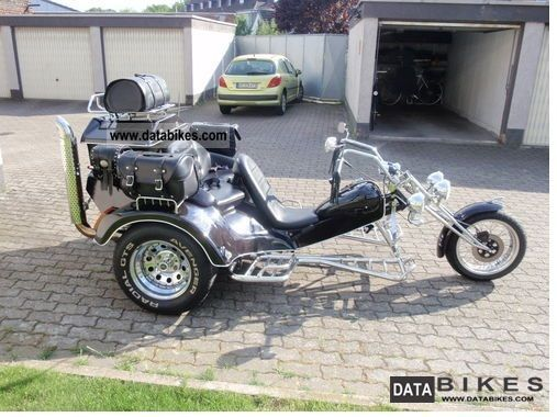 1998 Rewaco  HS 1 Topzustand seater 3 Kardan electric starter Motorcycle Trike photo
