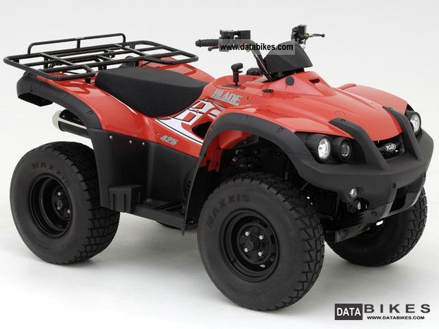 2012 TGB  Blade 425 4x2 Motorcycle Quad photo