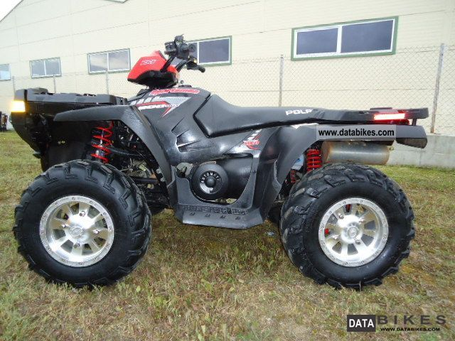 2008 Polaris  SPORTSMAN 800 4X4 ZAMIANA Motorcycle Quad photo