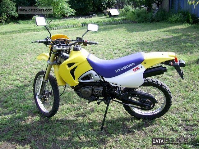 2005 Hyosung XRX 125 - Moto.ZombDrive.COM