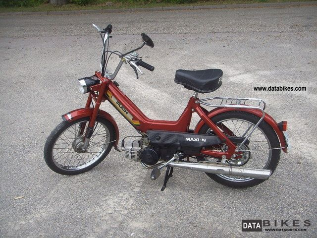 1989 Puch  Maxi-N Motorcycle Motor-assisted Bicycle/Small Moped photo