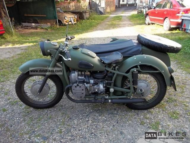 Ural  K750 1961 Vintage, Classic and Old Bikes photo
