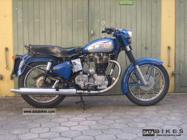 1993 Royal Enfield  Bullet 500 Motorcycle Naked Bike photo