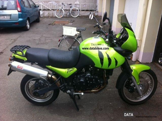 2002 Triumph  Tiger Motorcycle Tourer photo