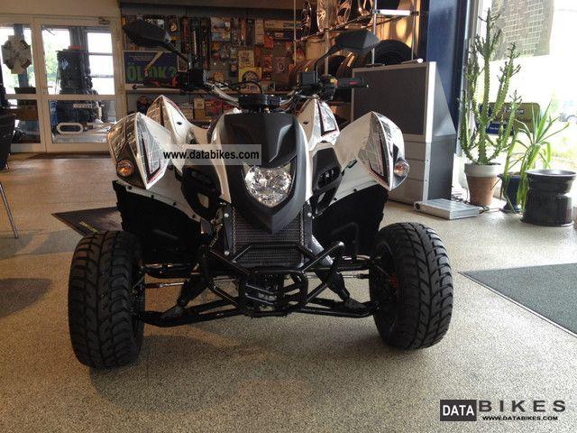 2012 Adly  320 S Supermoto white NEW! Motorcycle Quad photo