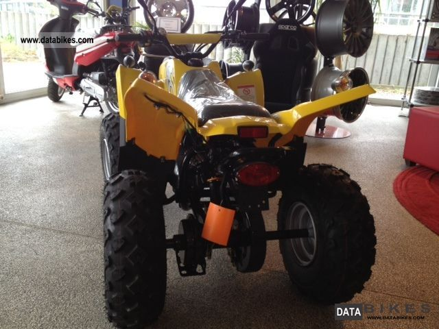 2012 Adly  Hercules 50 VG Kinderquad Motorcycle Quad photo