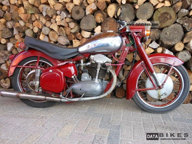 Jawa  15/02 500 OHC 1957 Vintage, Classic and Old Bikes photo