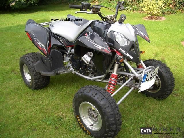 2007 Polaris  Outlaw 500 IRS Motorcycle Quad photo