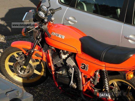 1982 Moto Morini  350 Sport (K1) Motorcycle Naked Bike photo