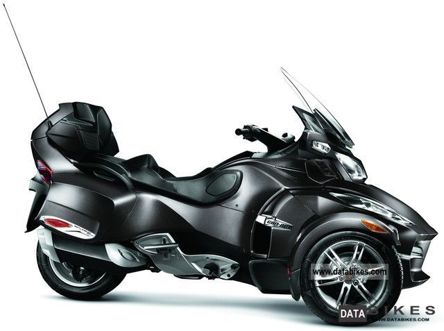 2012 Can Am  Bombardier BRP Spyder RT-S SE5 2011 Motorcycle Motorcycle photo
