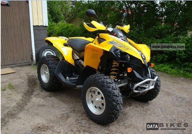 2008 Can Am  500 EFI 4x4 Motorcycle Quad photo