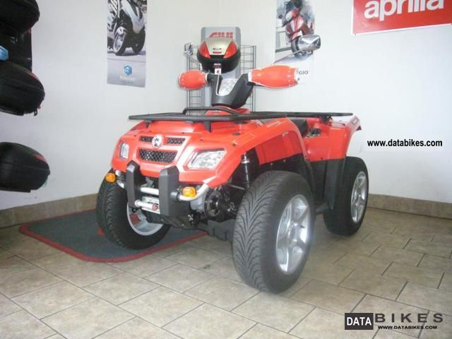 Can Am  Outlander 400, LoF tractor 2007 Quad photo