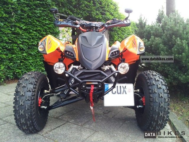 2011 Adly  Hurrican 500s Motorcycle Quad photo