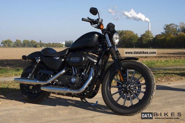 2009 Harley Davidson  XL883N Sportster Iron Black Denim (black matte.) Motorcycle Chopper/Cruiser photo