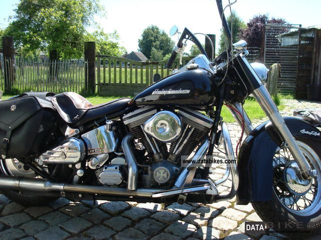 1990 Harley Davidson  heritage Motorcycle Chopper/Cruiser photo