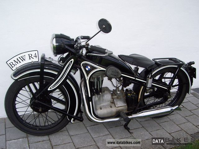 BMW  R4 1934 Vintage, Classic and Old Bikes photo