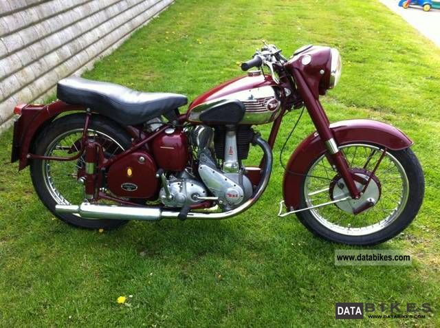 BSA  B33 1955 Motorcycle photo