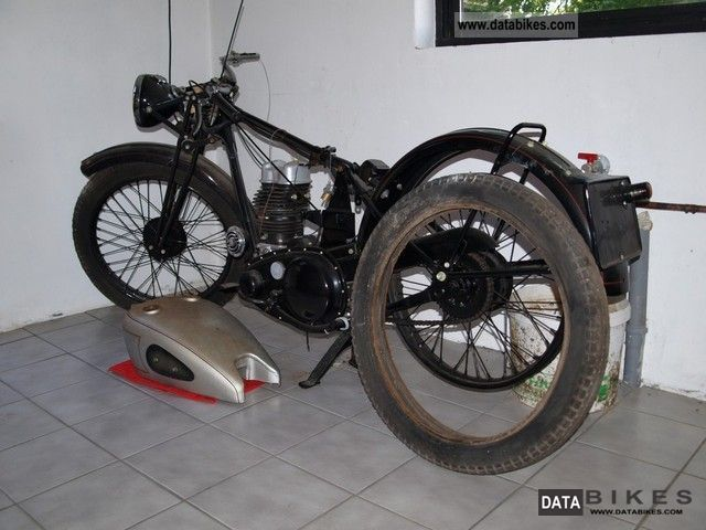 1939 BSA  C11 Motorcycle Motorcycle photo