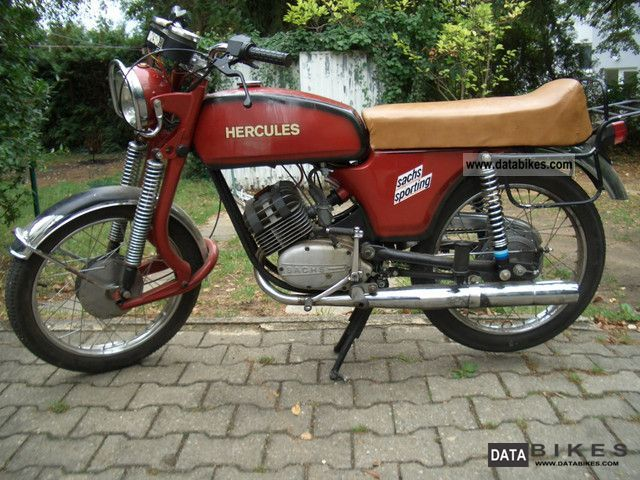 Hercules  K50 RE 1973 Vintage, Classic and Old Bikes photo