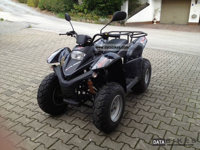 2010 Explorer  Bullet 50 Motorcycle Quad photo