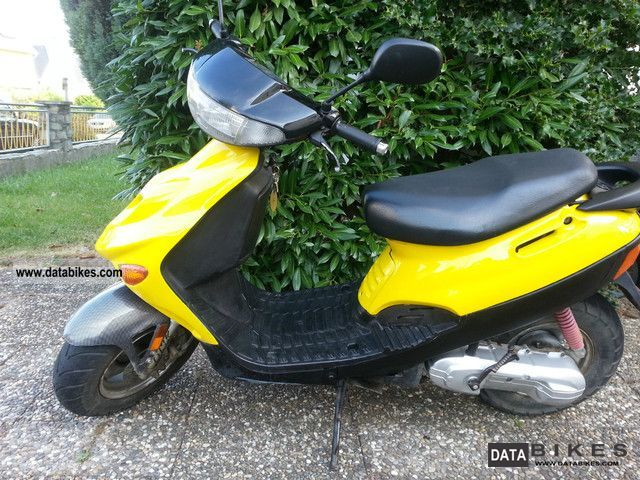 2003 Adly  Silver Fox 50 Motorcycle Motor-assisted Bicycle/Small Moped photo