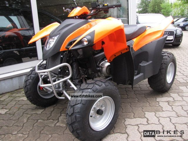 2012 Adly  Hercules HURRICANE280 orange * from dealer Motorcycle Quad photo