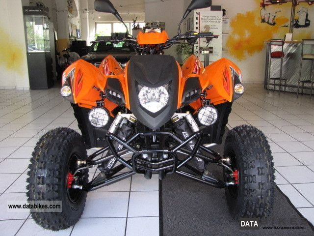 2012 Adly  HURRICANE 500S by the authorized dealer Motorcycle Quad photo