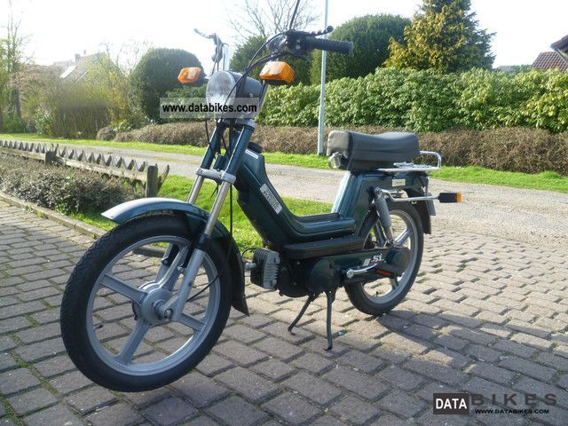 1991 Vespa  Si moped Motorcycle Motor-assisted Bicycle/Small Moped photo