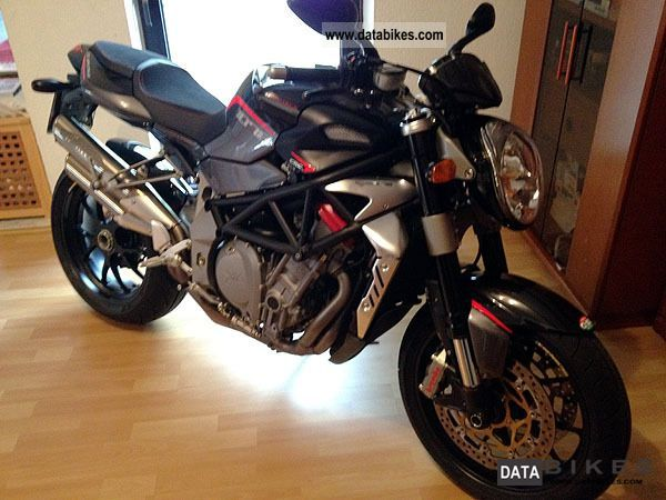 2010 MV Agusta  Brutale 1078 original MV and MV Carbon Alcantara Motorcycle Streetfighter photo