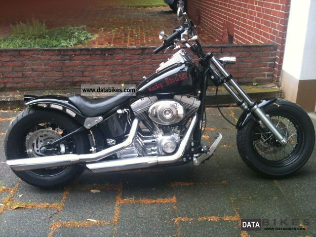 2005 Harley Davidson  Softtail Motorcycle Chopper/Cruiser photo