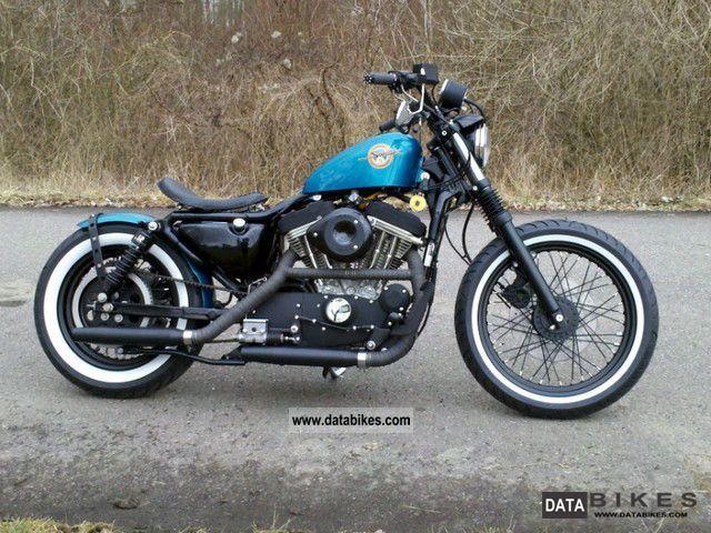Harley Davidson Sportster XL 883 H 1995 Chopper Cruiser Photo