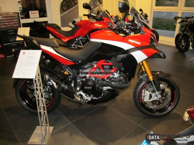 2012 Ducati  Multistrada Pikes Peak Motorcycle Sport Touring Motorcycles photo