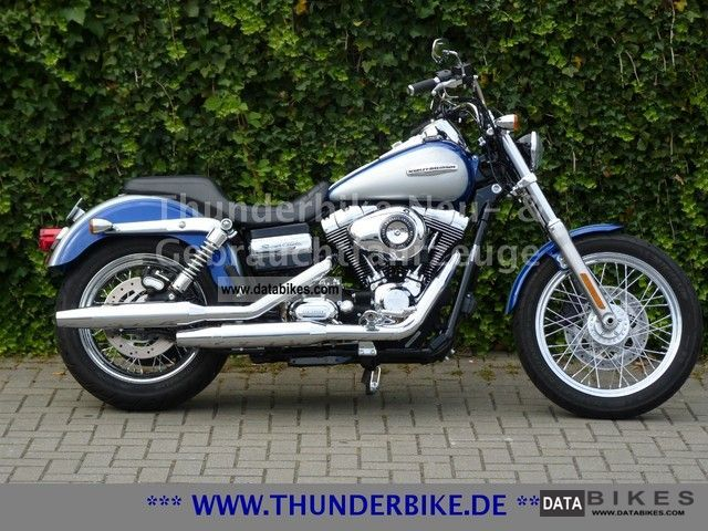 2010 Harley Davidson  FXDC Dyna Super Glide - Excellent condition Motorcycle Chopper/Cruiser photo
