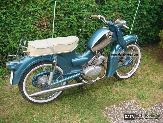 Zundapp  Zündapp C 50 Super 1968 Vintage, Classic and Old Bikes photo