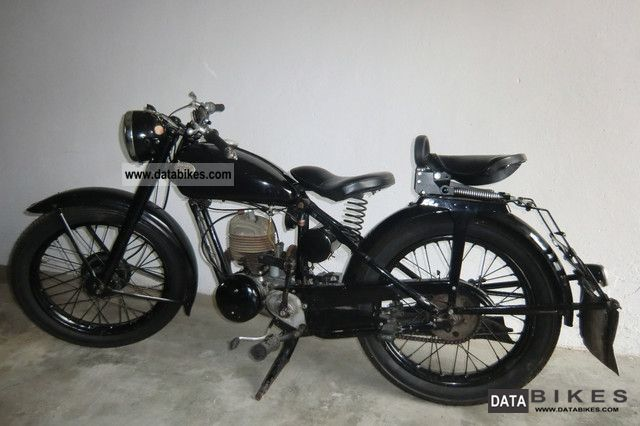 Zundapp  Zundapp Norma 1952 Vintage, Classic and Old Bikes photo