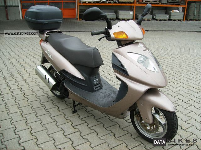 2000 Daelim  OTTELLO 125 VERY NICELY WITH TOPCASE Motorcycle Scooter photo