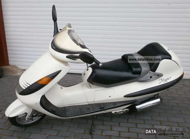 1999 Hyosung  HYPER 125 Motorcycle Scooter photo