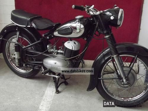 DKW  rt 250 1954 Vintage, Classic and Old Bikes photo