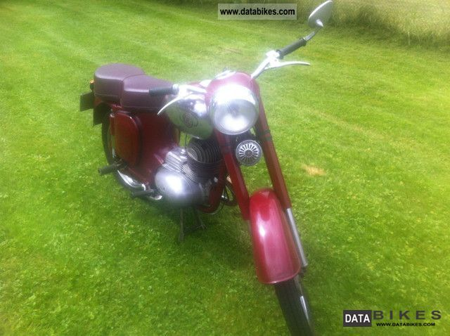 Jawa  CZ 1962 Vintage, Classic and Old Bikes photo