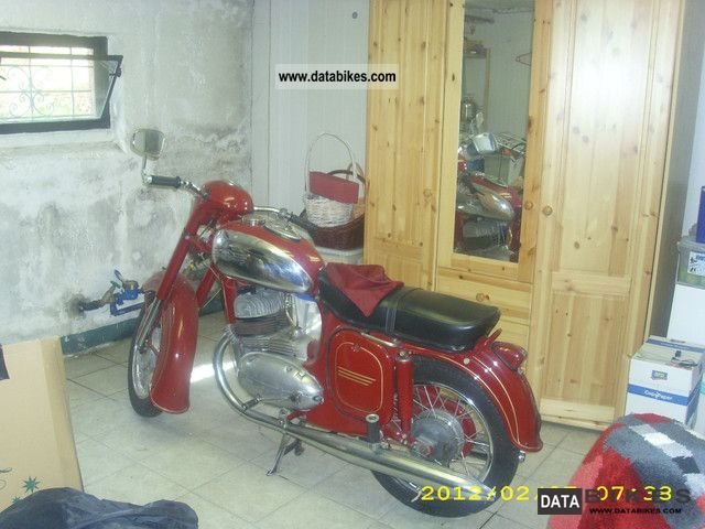 Jawa  350 1959 Vintage, Classic and Old Bikes photo