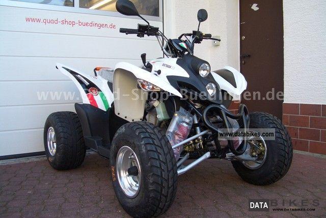 2012 Motobi  Aeon Moto Bionics Bistrada 3.5 Motorcycle Quad photo