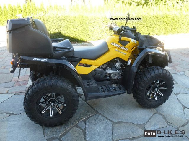 2012 Can Am  Outlander 800 MAX XTP Motorcycle Quad photo