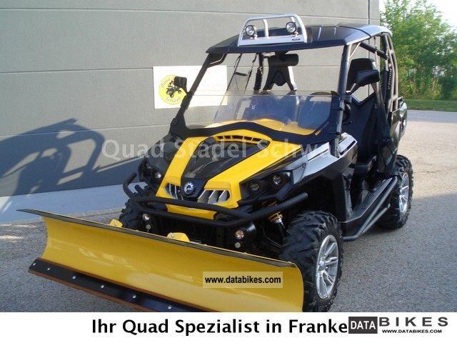 Can Am  Commander 1000 XT 2010 Quad photo